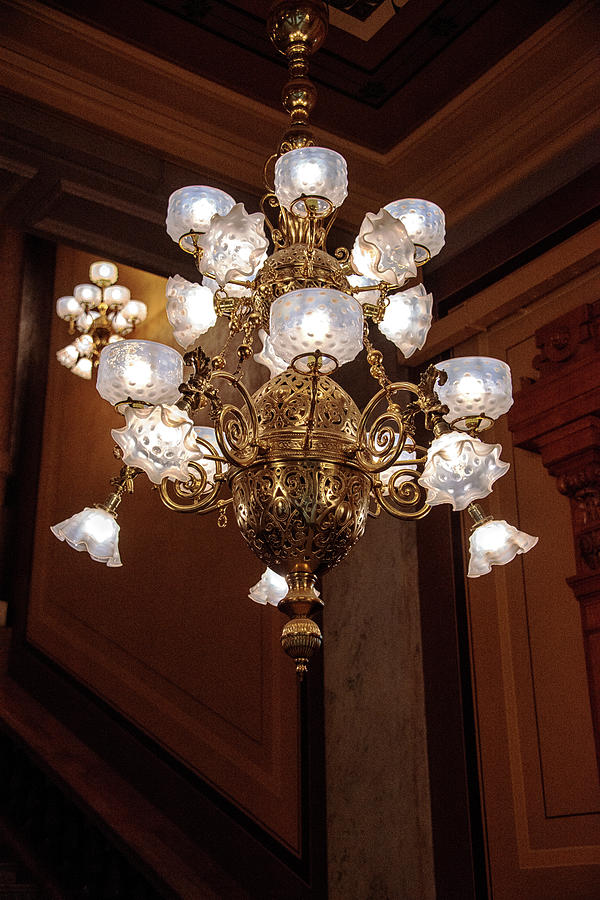 Chandeliers Photograph - Lights    by Joseph Yarbrough