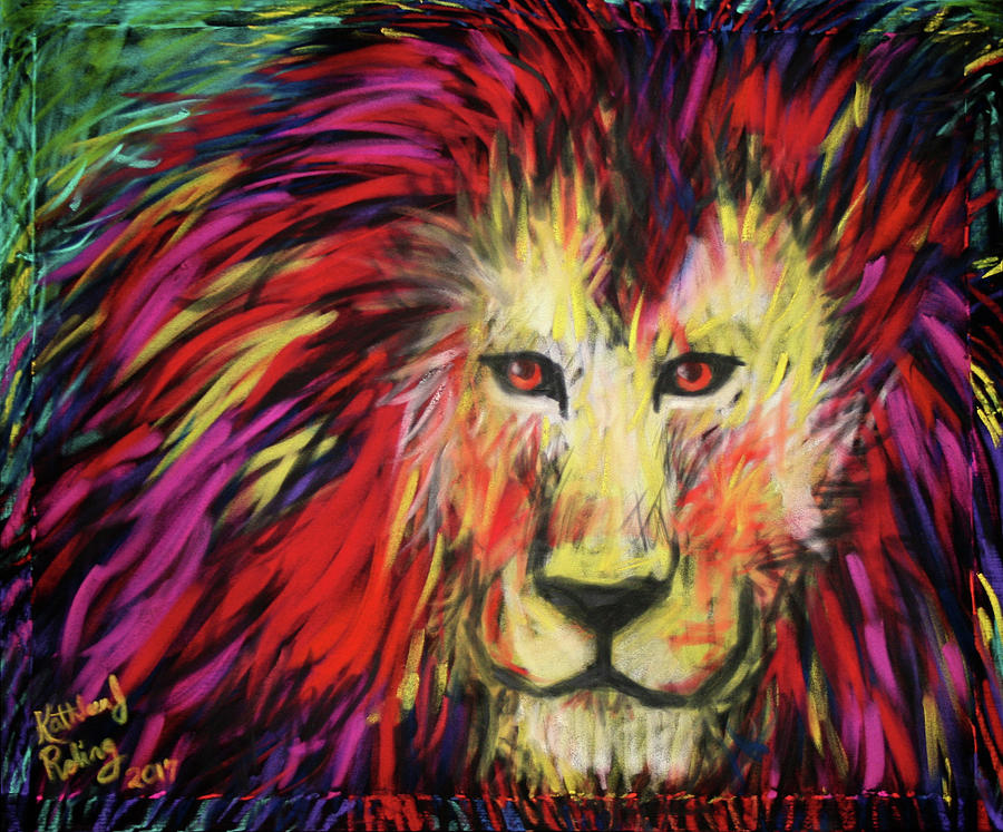 Lion by Kathleen Roling