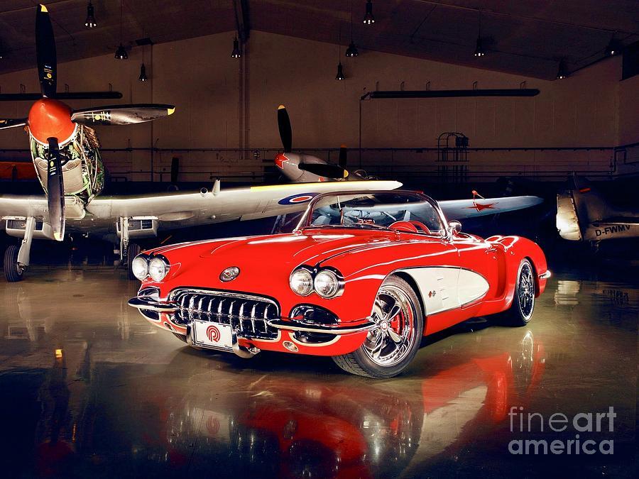 Little Red Corvette  by EliteBrands Co