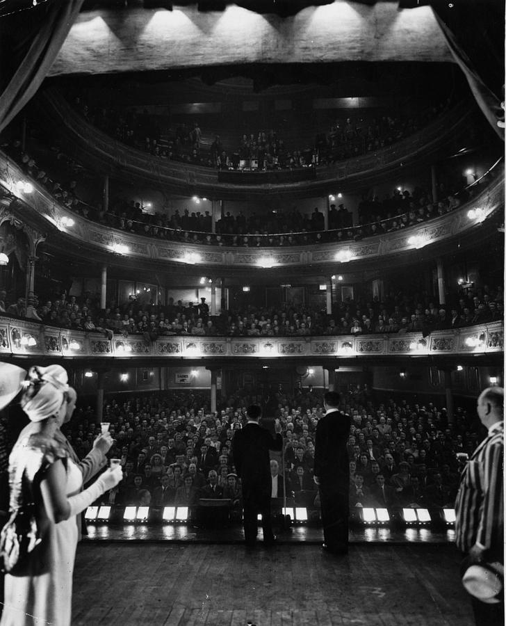 Liverpool Audience Photograph by Bert Hardy
