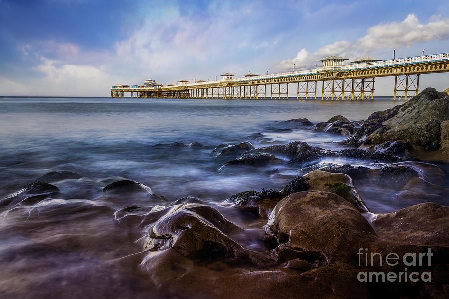 Llandudno Pier by Ian Mitchell