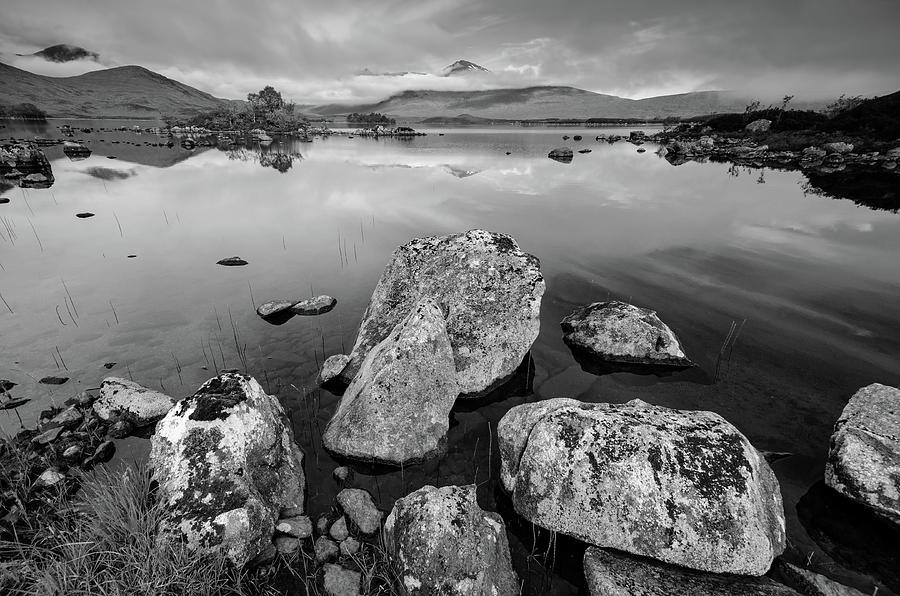 Lochan Mixed Media - Loch La Stainge by Smart Aviation