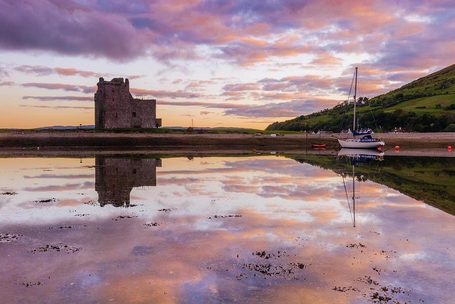 Arran Photograph - Lochranza Castle, Arran by David Ross