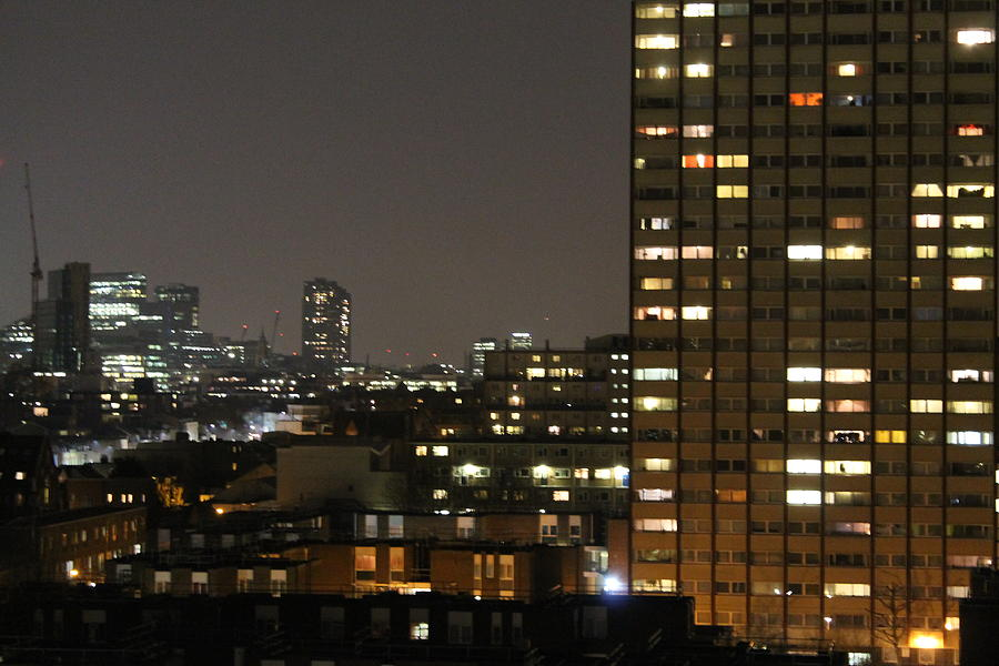 Tranquility Photograph - London At Night by Le Chateau Ludic