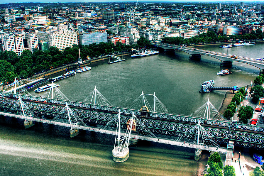 London from Above by Anna Yanev