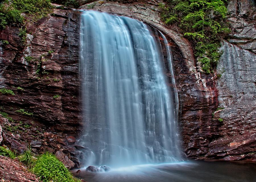 Looking Glass Falls by Allen Nice-Webb