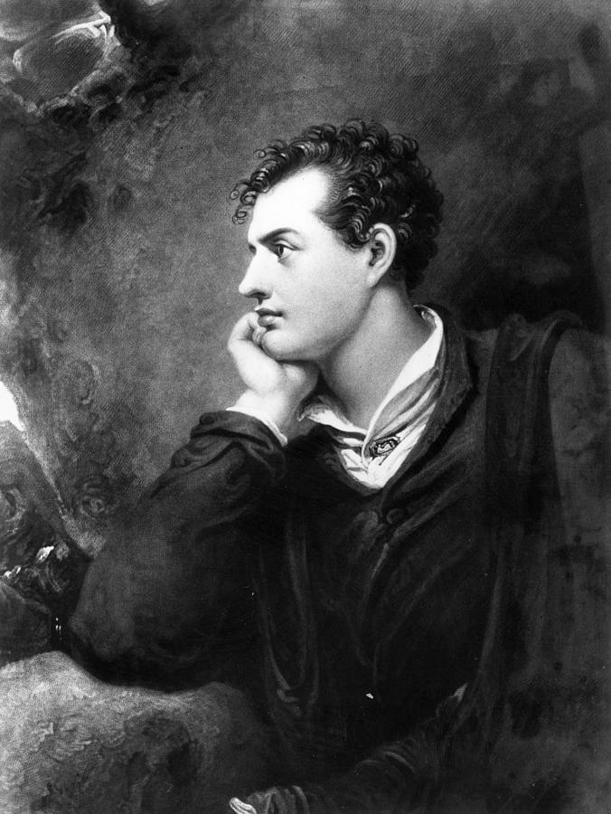 Lord Byron Photograph by Hulton Archive