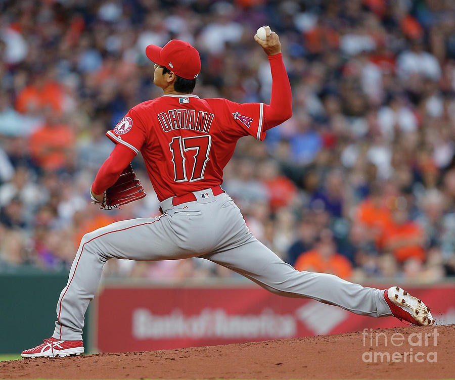 Los Angeles Angels Of Anaheim  V Photograph by Bob Levey