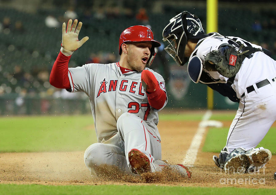 Los Angeles Angels Of Anaheim V Detroit Photograph by Gregory Shamus