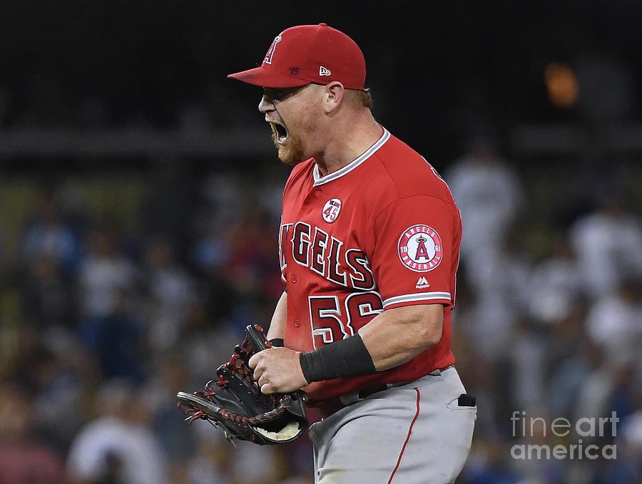 Los Angeles Angels Of Anaheim V Los Photograph by Harry How