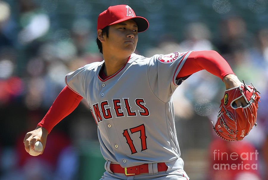 Los Angeles Angels Of Anaheim  V Photograph by Thearon W. Henderson