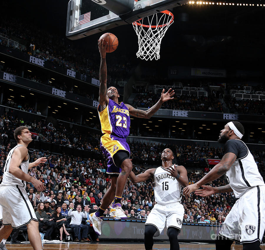 Los Angeles Lakers V Brooklyn Nets Photograph by Nathaniel S. Butler
