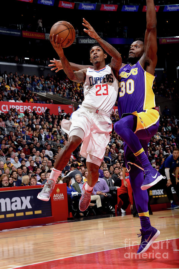 Los Angeles Lakers V La Clippers Photograph by Andrew D. Bernstein