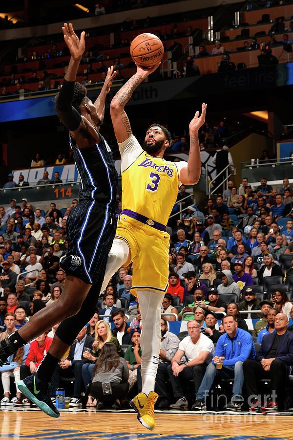 Los Angeles Lakers V Orlando Magic Photograph by Gary Bassing