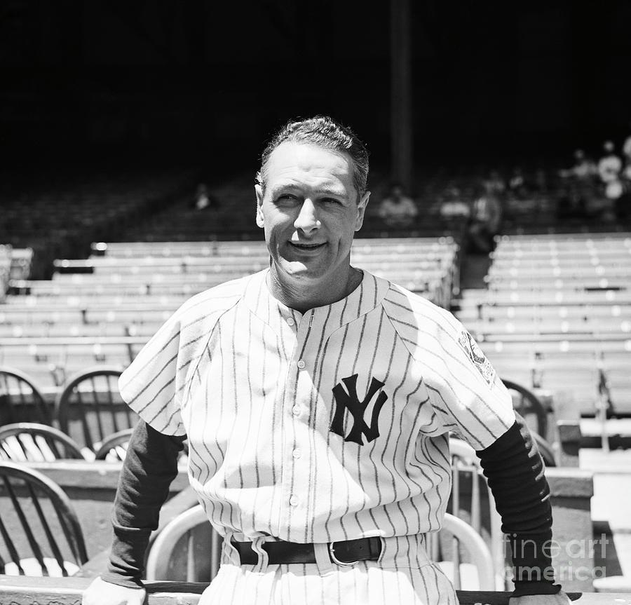 Lou Gehrig Photograph by Bettmann