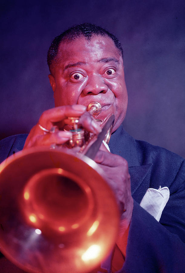 Louis Armstrong Photograph by Eliot Elisofon