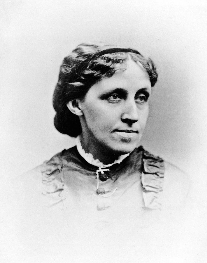 Louisa May Alcott Photograph by Hulton Archive