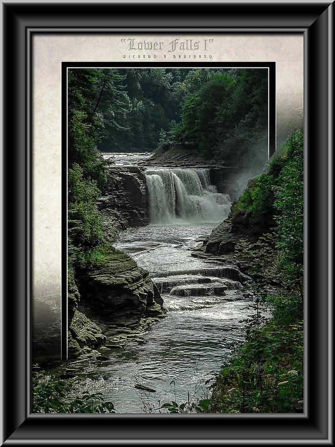 Lower Falls 1 Color by Rick Bartrand