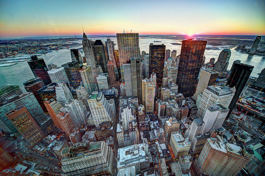 Lower Manhattan 1 Photograph by Tony Shi Photography