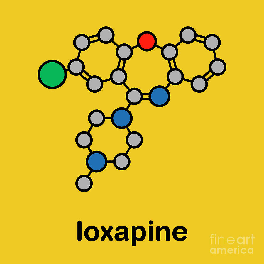 Typical Photograph - Loxapine Antipsychotic Drug by Molekuul/science Photo Library