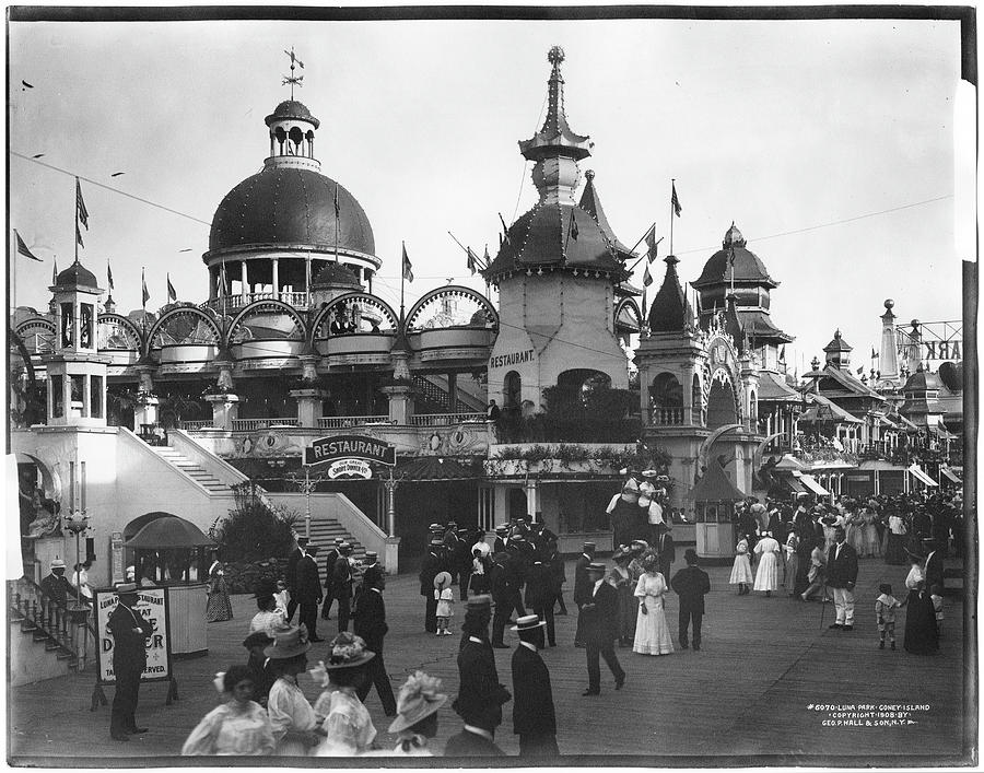Luna Park Photograph by The New York Historical Society