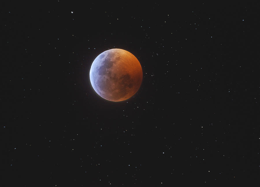 Lunar eclipse by Daniele Gasparri