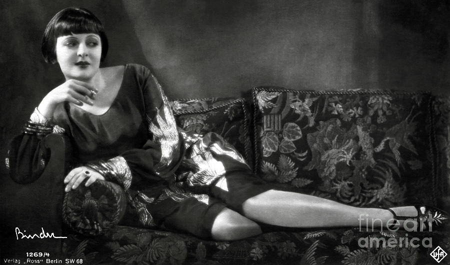Lya De Putti Photograph - Lya De Putti by Sad Hill - Bizarre Los Angeles Archive