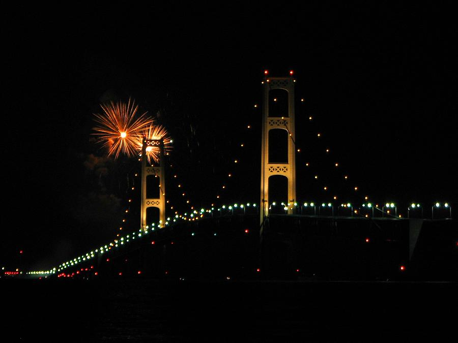 Mackinac Bridge at 50 by Keith Stokes