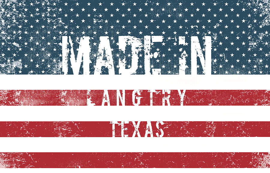 Langtry Digital Art - Made in Langtry, Texas by Tinto Designs