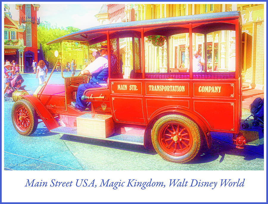 Main Street USA, Magic Kingdom, Walt Disney World by A Gurmankin