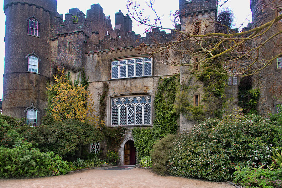 Malahide Castle Ireland by Curt Rush
