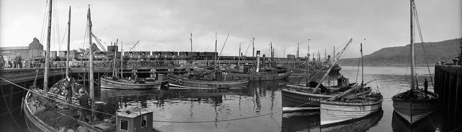 Mallaig Harbour Photograph by Alfred Hind Robinson