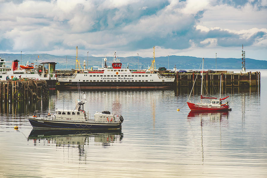 Mallaig Harbour by Ray Devlin