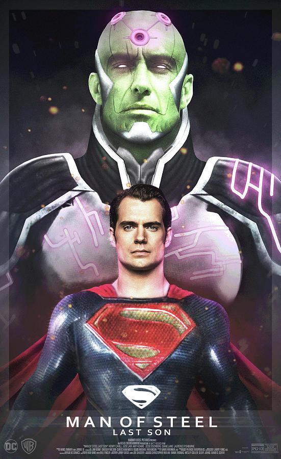Man Of Steel Digital Art - Man Of Steel by Geek N Rock