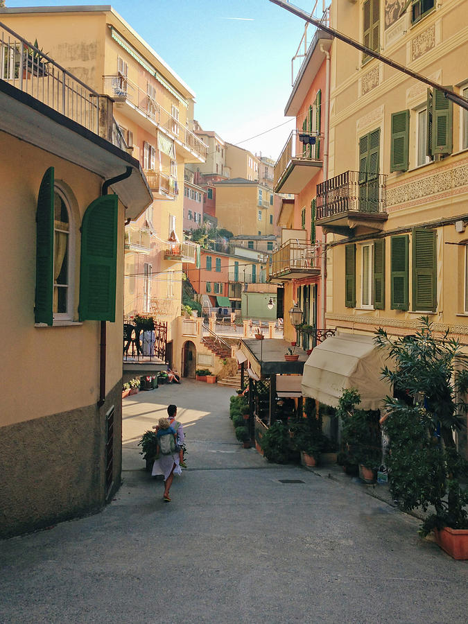 Toddler Photograph - Manarola Italy by M Swiet Productions