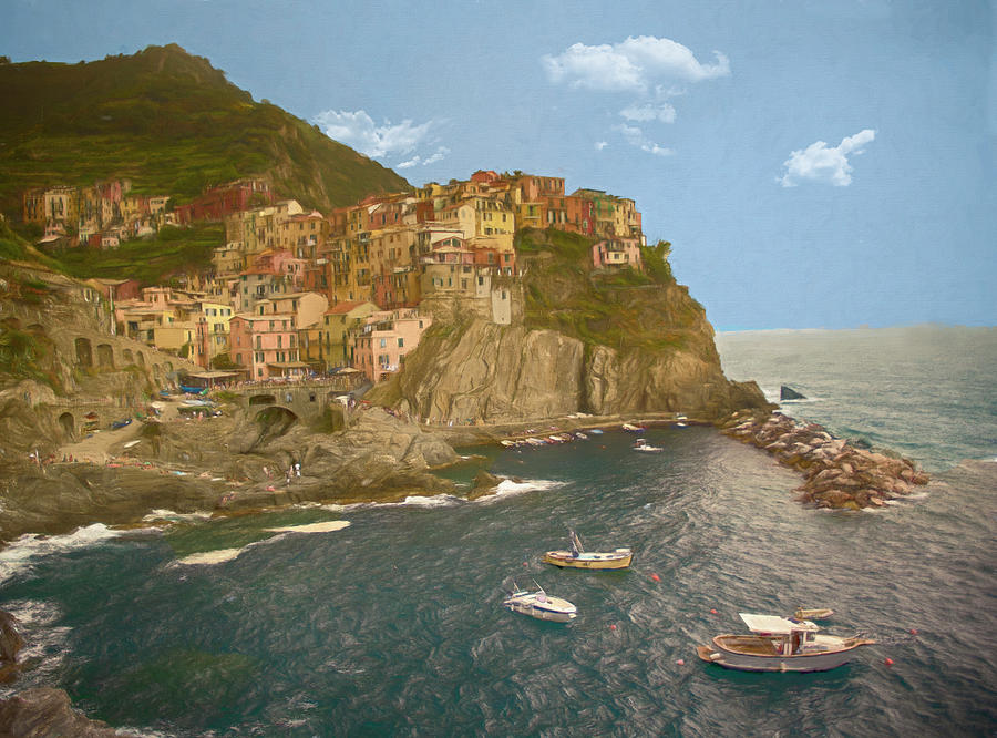 Manarola, Italy by Mick Burkey
