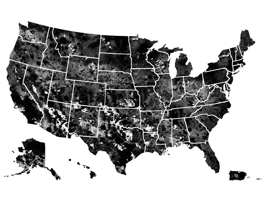 Map Of Usa-black 2 United States Map Black on black kentucky map, black ethiopia map, black panama map, black middle east map, black iowa map, us civil war railroad map, black western hemisphere map, black oklahoma map, black alaska map, black countries map, black north carolina, black germany map, black indiana map, black ghana map, african american population by state map, black globe, black france map, black idaho map, geothermal energy heat map, black michigan map,