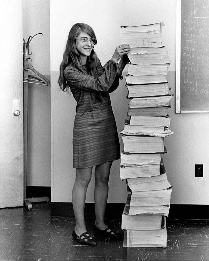 1969 Photograph - Margaret Hamilton, American Computer by Science Source