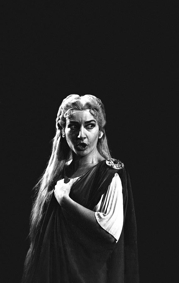 Maria Callas 1 Photograph by Gordon Parks
