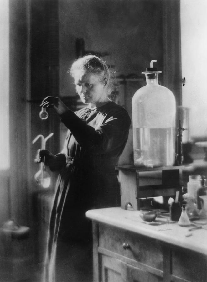 Marie Curie Photograph by Hulton Archive