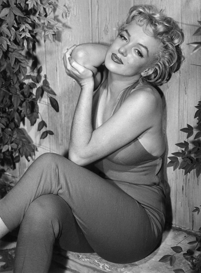 Marilyn Monroe Photograph by Baron
