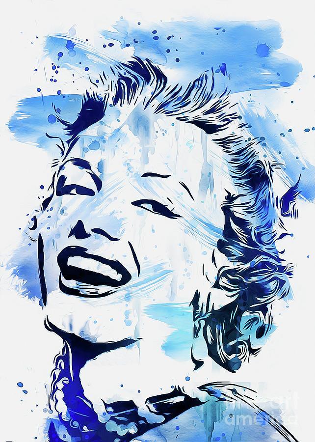 Marilyn Monroe by Ian Mitchell