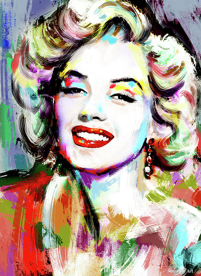 Marilyn Monroe by Stars on Art