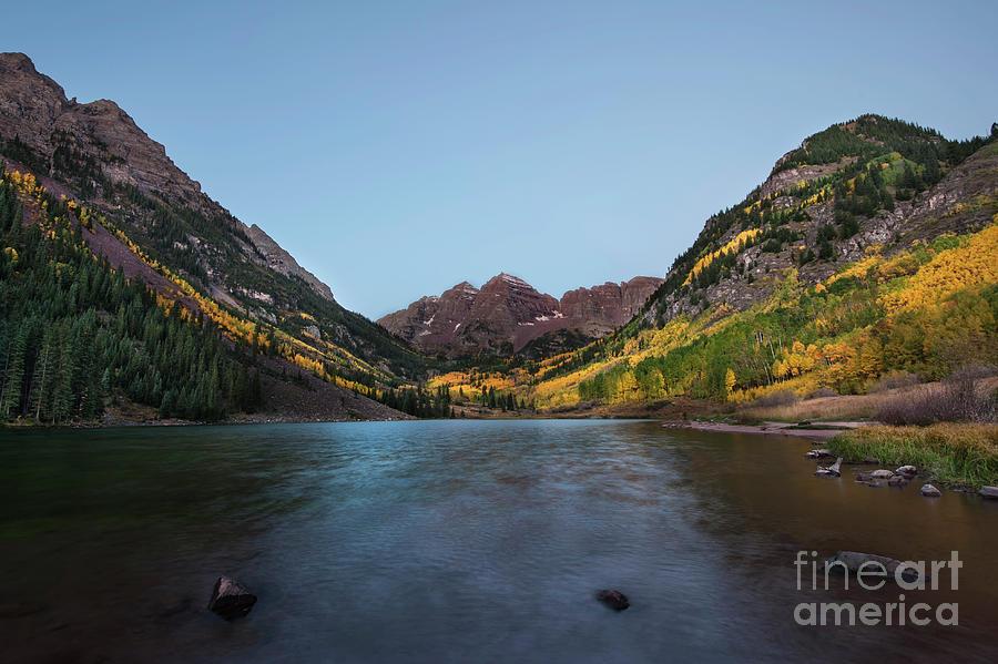 Colorado Photograph - Maroon Bells by Joe Sparks