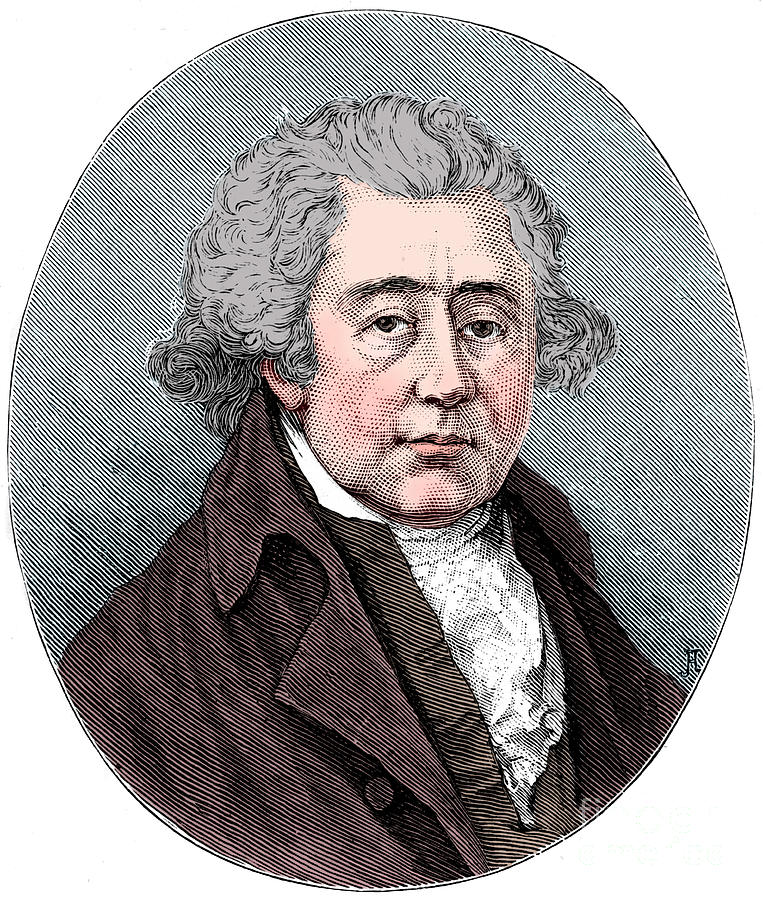 Matthew Boulton English Manufacturer Drawing by Print Collector