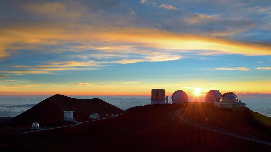 Mauna Kea Sunset by Patrick Campbell