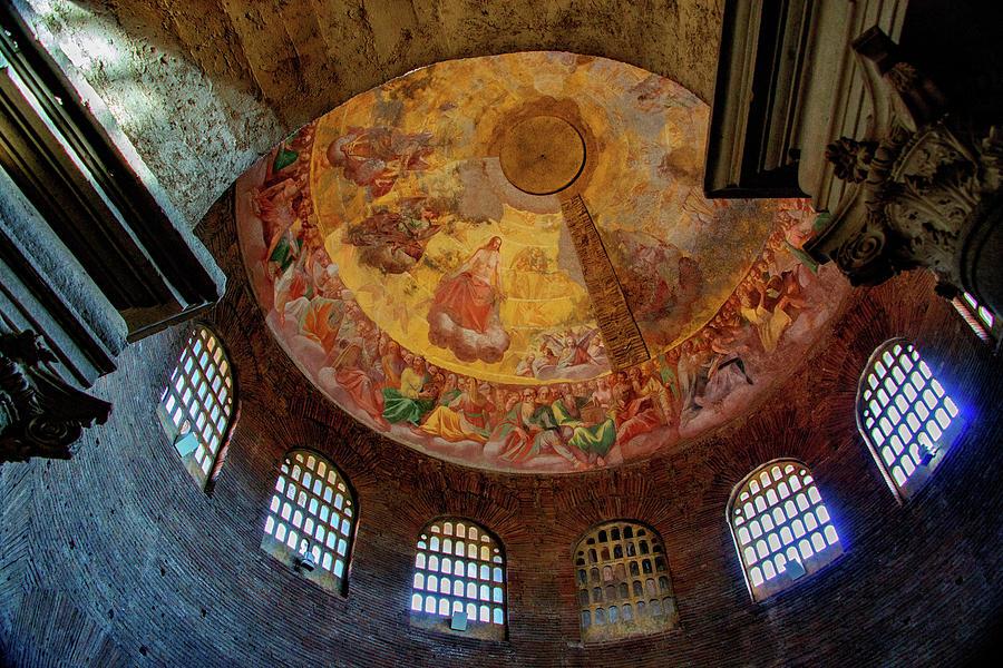 Constantine Photograph - Mausoleo Di Santa Costanza by Joseph Yarbrough