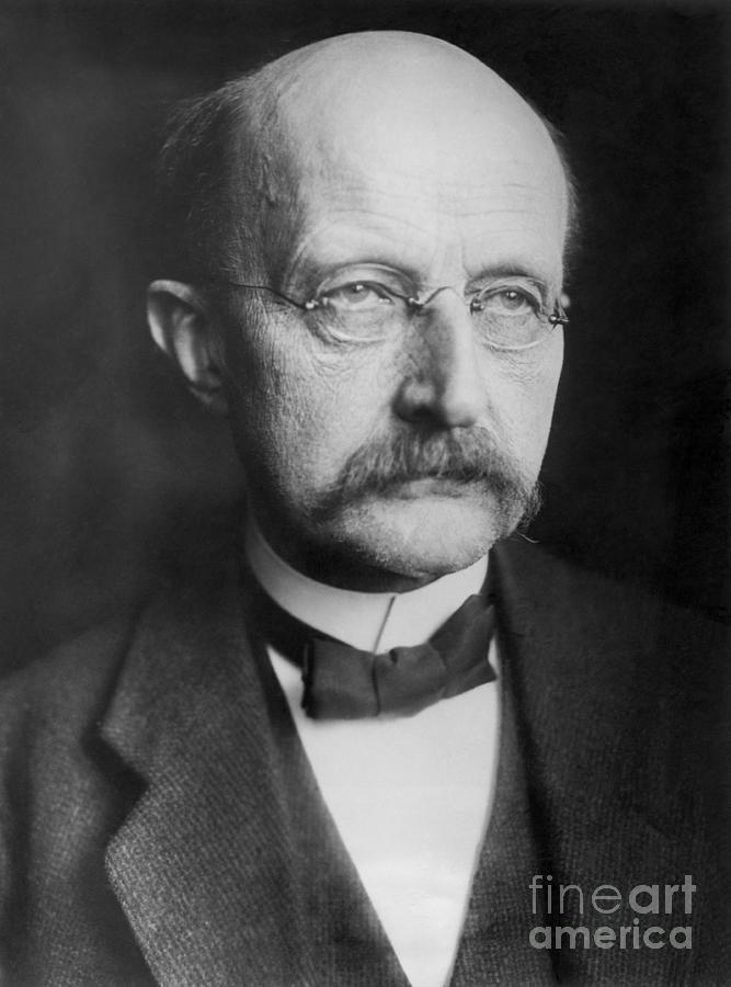 Max Planck Photograph by Bettmann