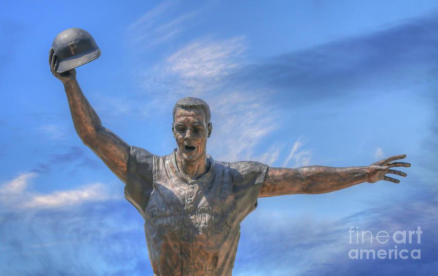 Mazeroski Statue PNC Park Pittsburgh by Randy Steele