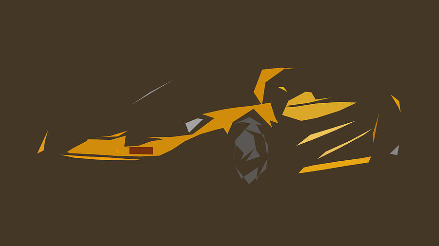 Mclaren F1 Lm Abstract Design Digital Art By Carstoon Concept